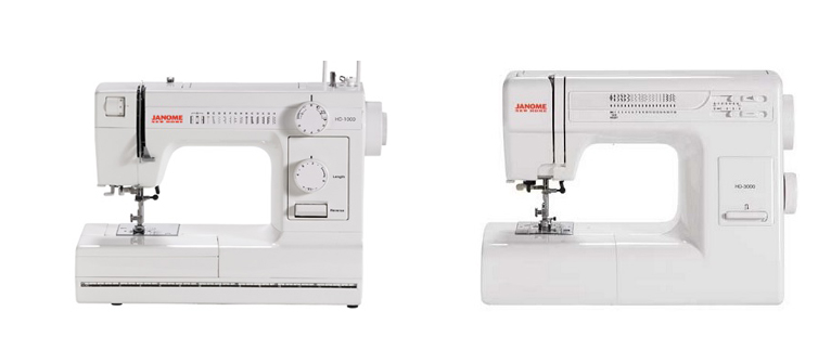 Janome HD40 Vs HD40 Comparison In Detail Fascinating Janome Sewing Machine Comparison