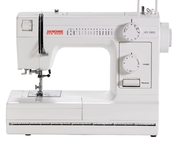 Janome HD1000 Review In Detail
