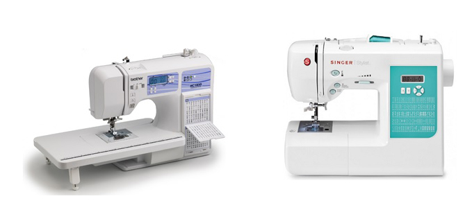 Brother HC40 Vs Singer 40 Comparison In Detail Best Brother Hc1850 Sewing And Quilting And Embroidery Machine