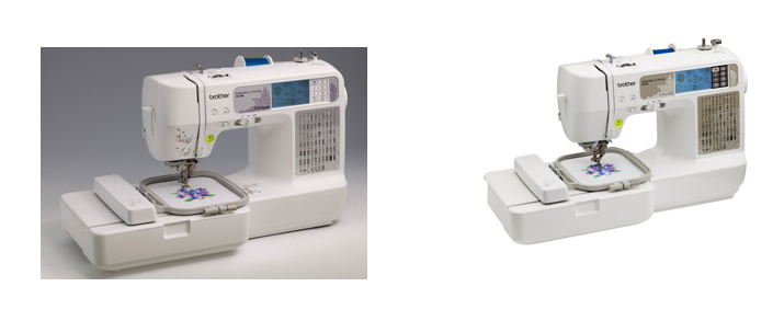 Brother SE40 Vs SE40 Comparison In Detail Magnificent Brother Sewing And Embroidery Machine Se400