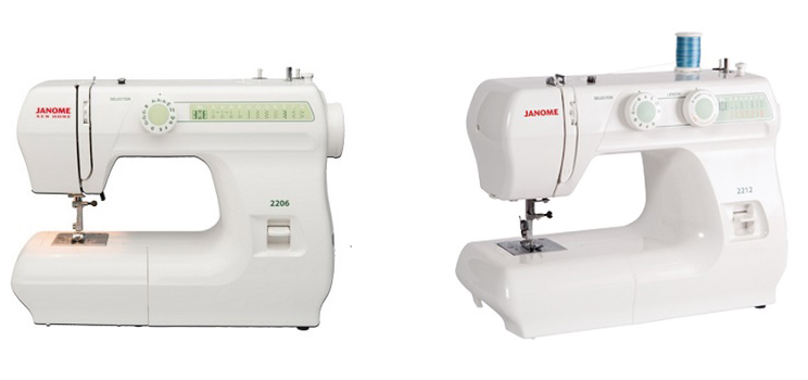 Janome 2206 Vs 2212 Comparison