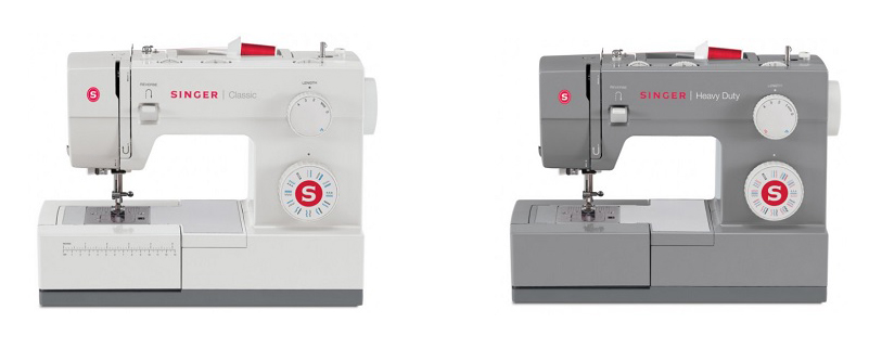 Singer 40s Vs 4032 Comparison In Detail New Singer 44s Classic 23 Stitch Sewing Machine