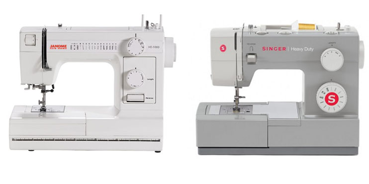 Janome HD40 Vs Singer 40 Comparison In Detail Best Janome Hd1000 Black Edition Heavy Duty Commercial Grade Sewing Machine