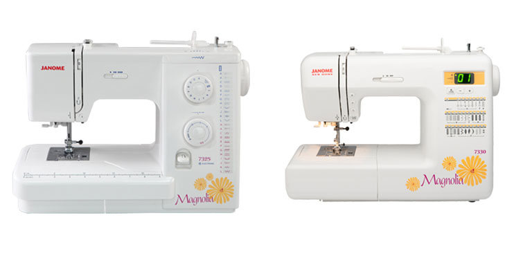 Janome 7325 vs 7330 Comparison In Detail