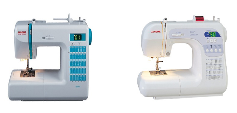 Janome DC2013 Vs DC3050 Comparison In Detail