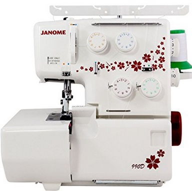 Janome 990D Serger Review In Detail