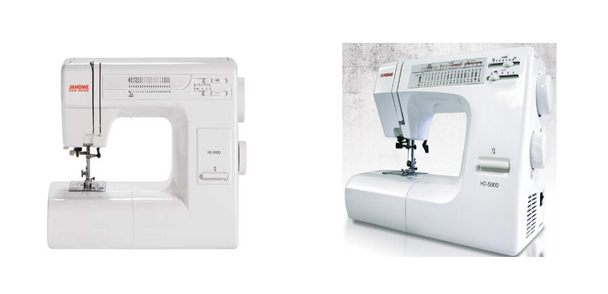 Janome HD3000 Vs HD5000 Comparison In Detail
